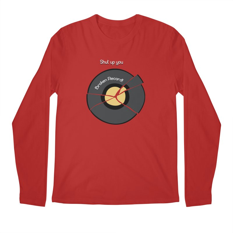 Broken Record Men's Longsleeve T-Shirt by DesireArt's Artist Shop