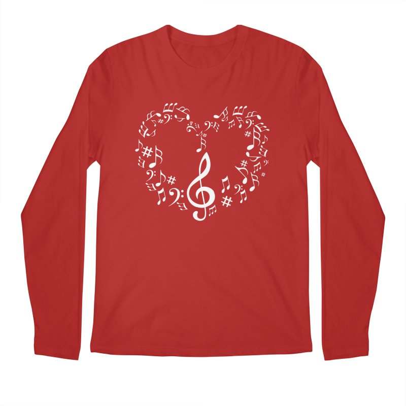 Music Love Men's Longsleeve T-Shirt by DesireArt's Artist Shop