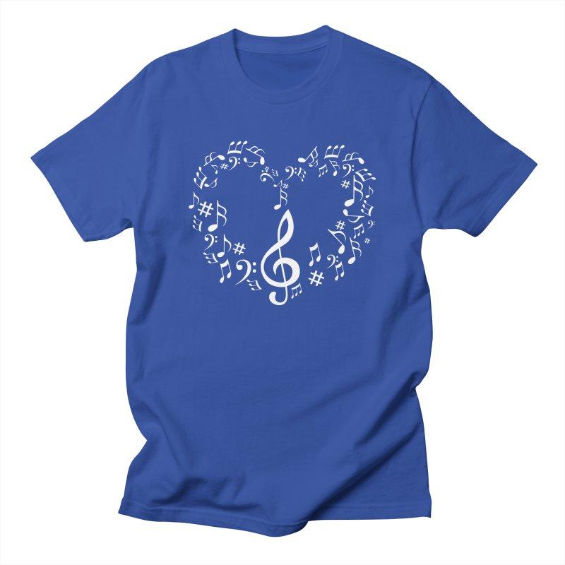 Music Love Men's T-shirt by DesireArt's Artist Shop