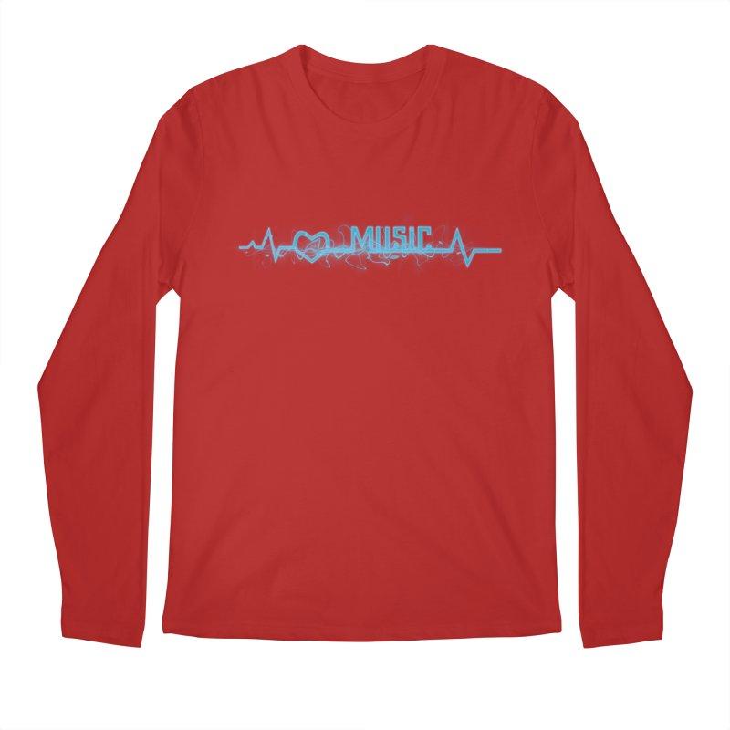 Music Love Men's Longsleeve T-Shirt by DesireArt's Artist Shop