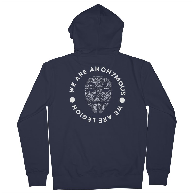 Anonymous Women's Zip-Up Hoody by DesireArt's Artist Shop
