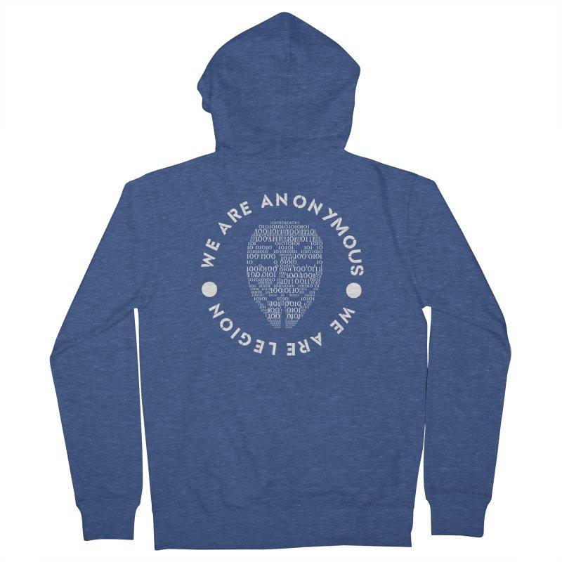 Anonymous Men's Zip-Up Hoody by DesireArt's Artist Shop