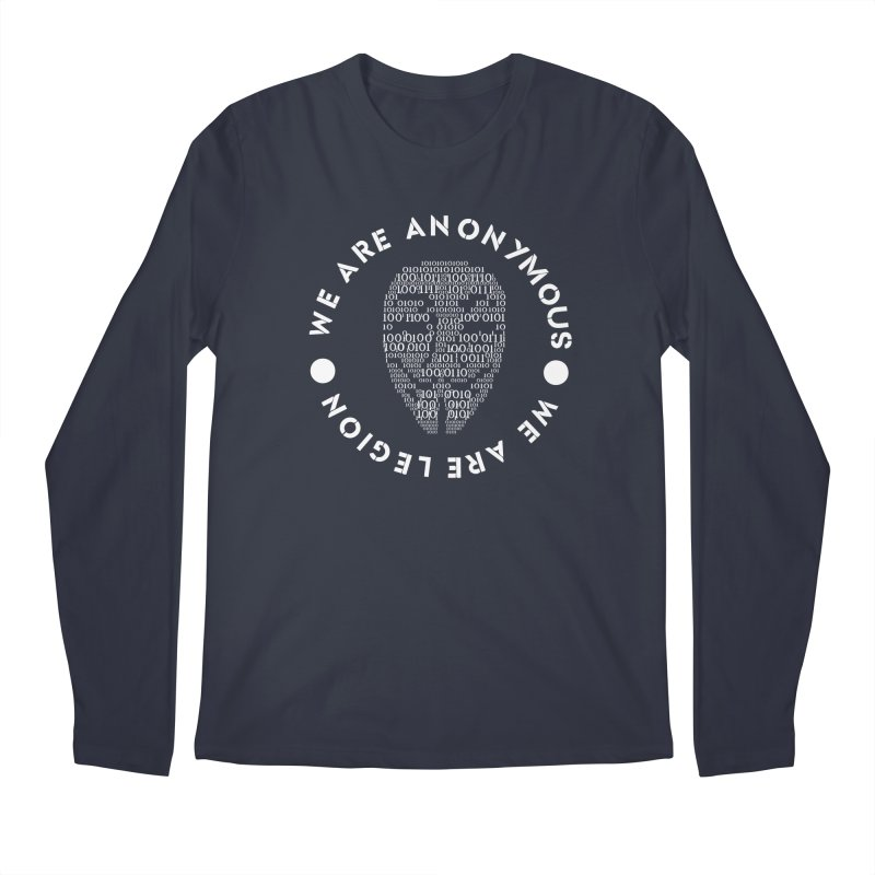 Anonymous Men's Longsleeve T-Shirt by DesireArt's Artist Shop