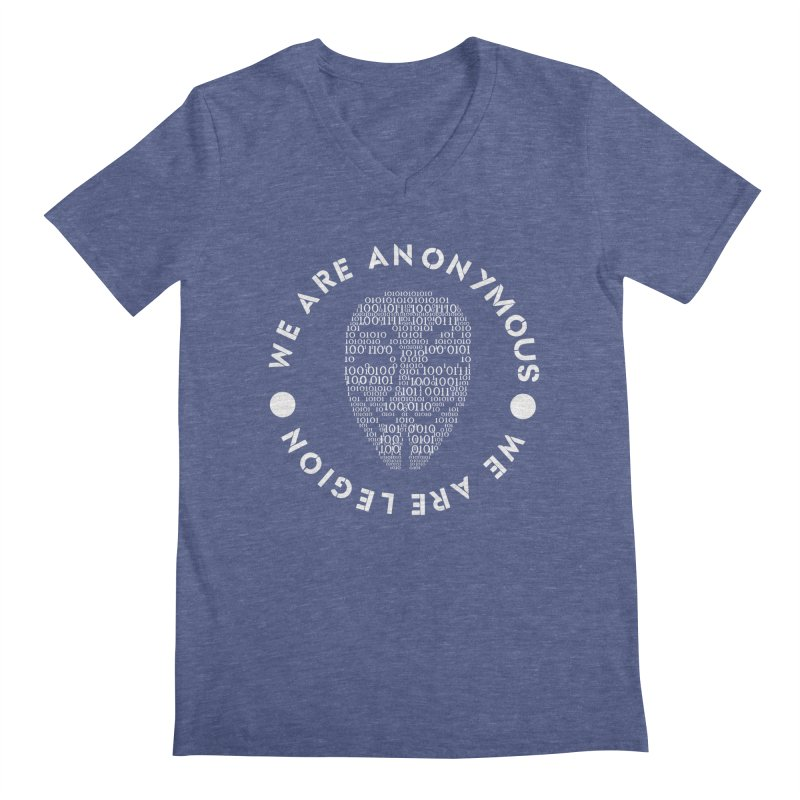 Anonymous Men's V-Neck by DesireArt's Artist Shop