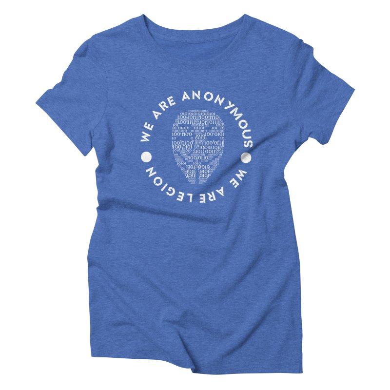 Anonymous Women's Triblend T-Shirt by DesireArt's Artist Shop