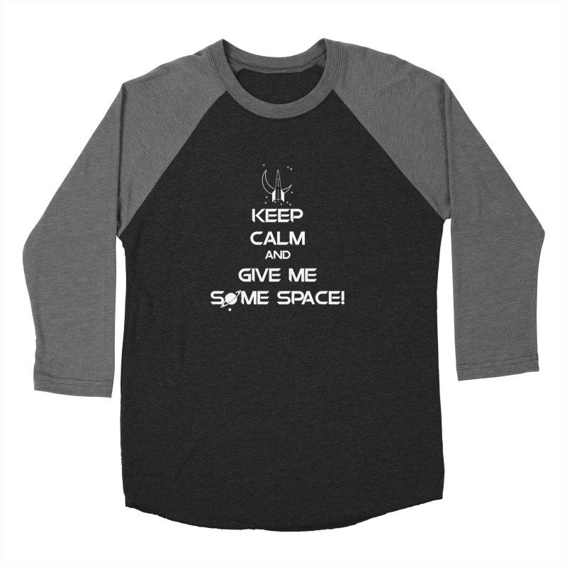 Space Men's Baseball Triblend T-Shirt by DesireArt's Artist Shop