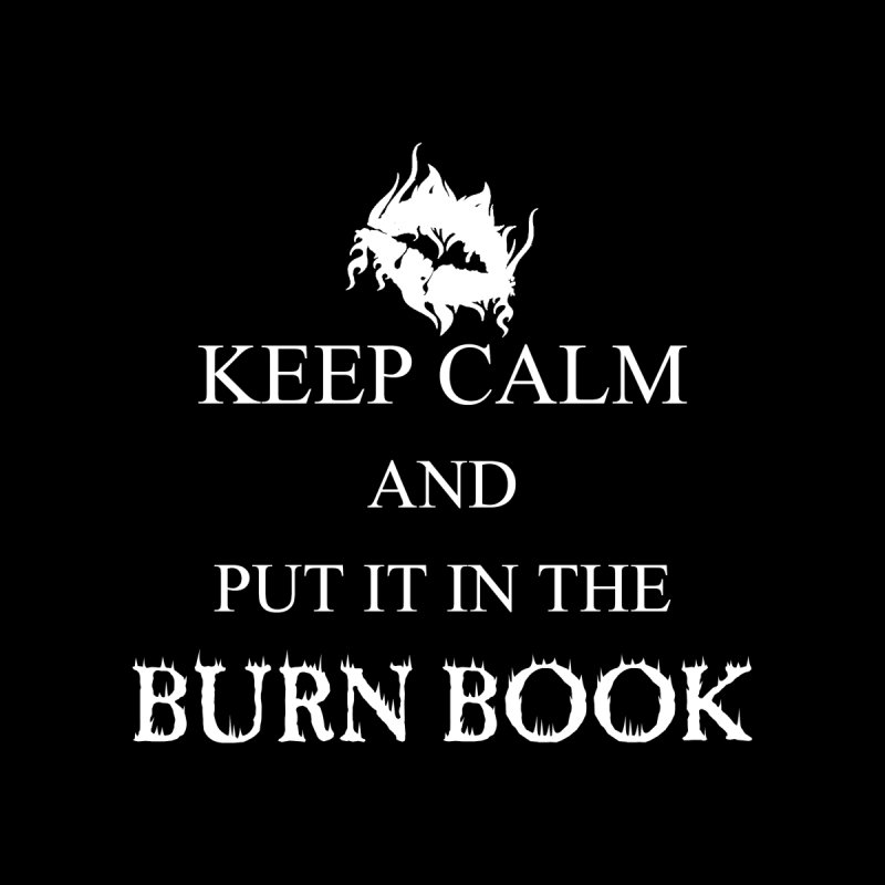 Burn Book Women's V-Neck by DesireArt's Artist Shop