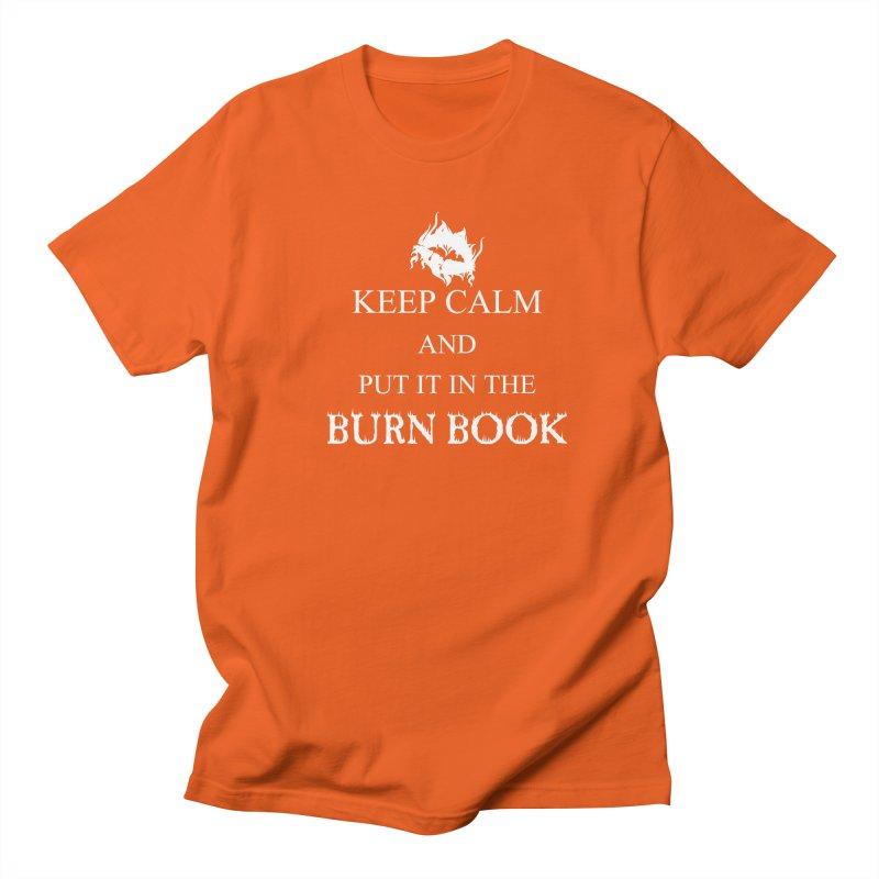 Burn Book Men's T-Shirt by DesireArt's Artist Shop
