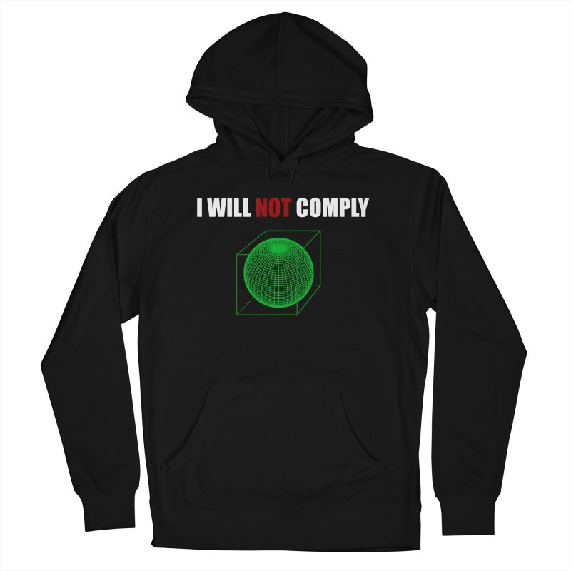 Comply Women's Pullover Hoody by DesireArt's Artist Shop