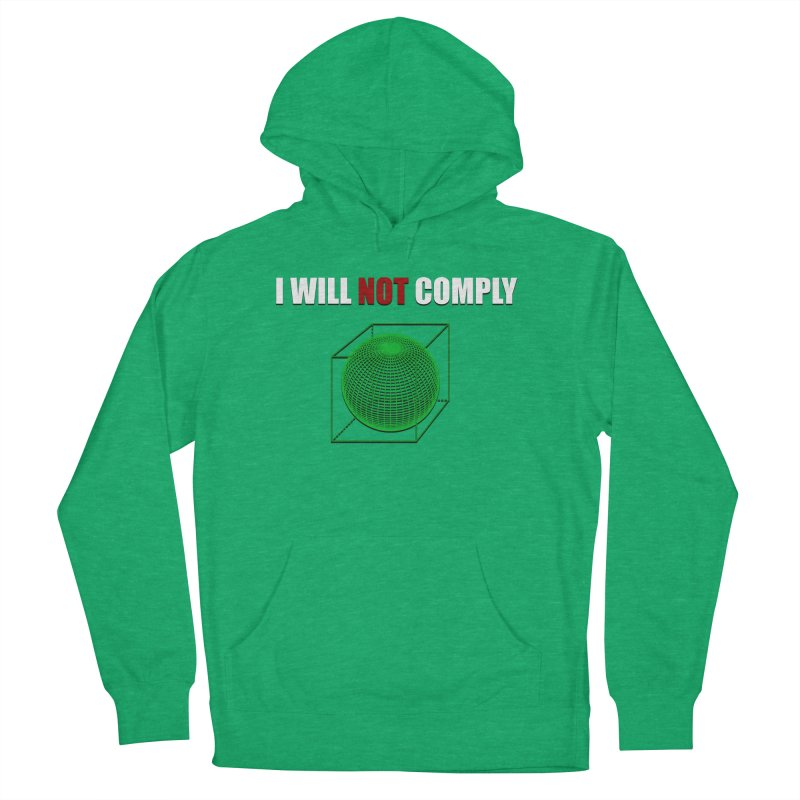 Comply Men's Pullover Hoody by DesireArt's Artist Shop