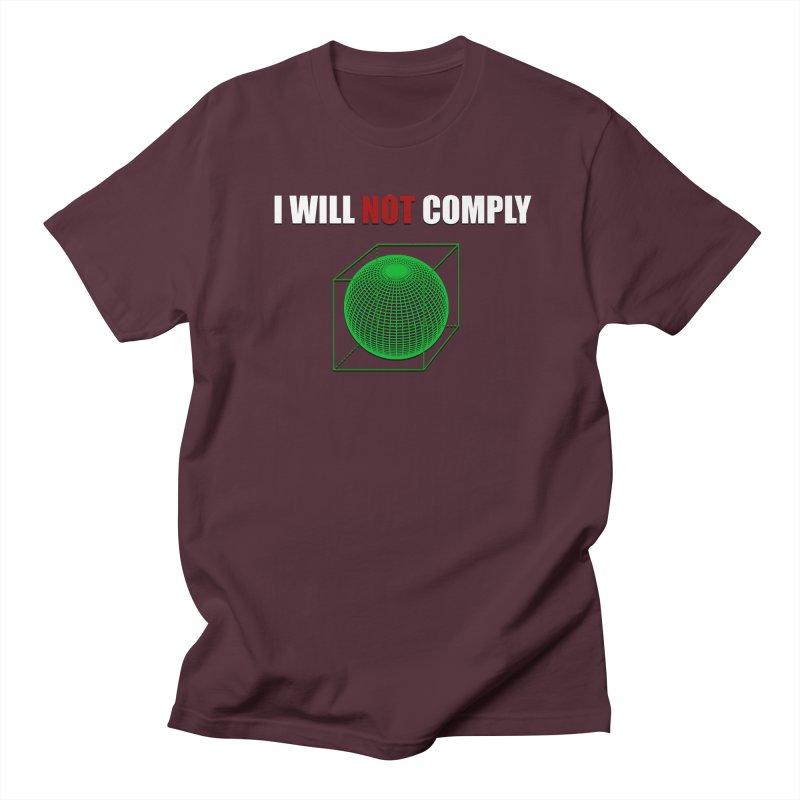 Comply Men's T-shirt by DesireArt's Artist Shop