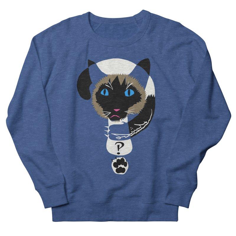 Interrobang Cat Men's Sweatshirt by DevilishDetails's Artist Shop