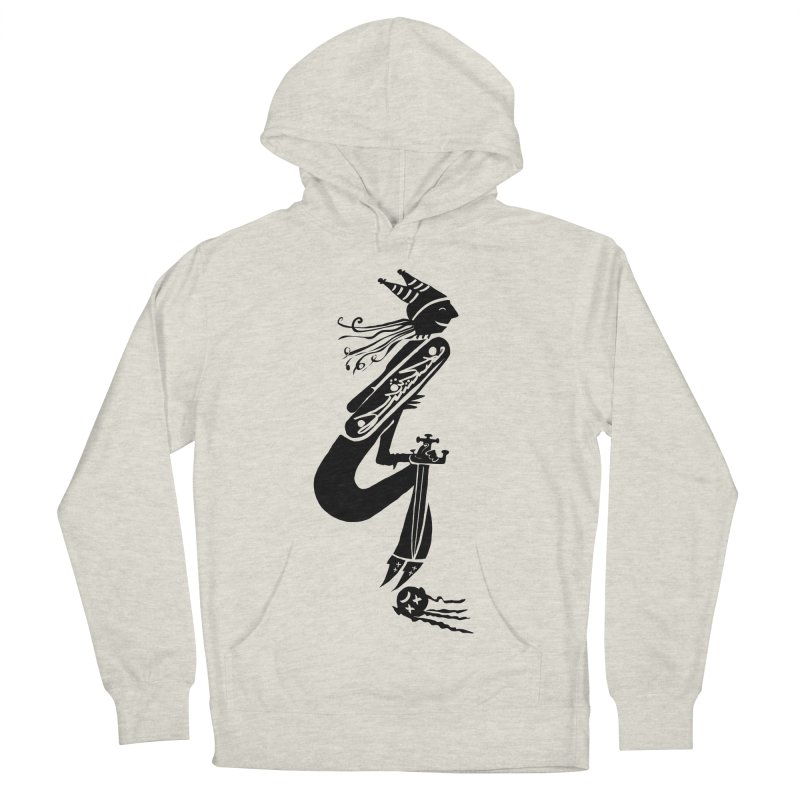 Irony Men's French Terry Pullover Hoody by DevilishDetails's Artist Shop