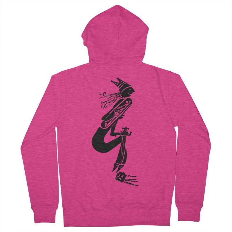 Irony Women's French Terry Zip-Up Hoody by DevilishDetails's Artist Shop
