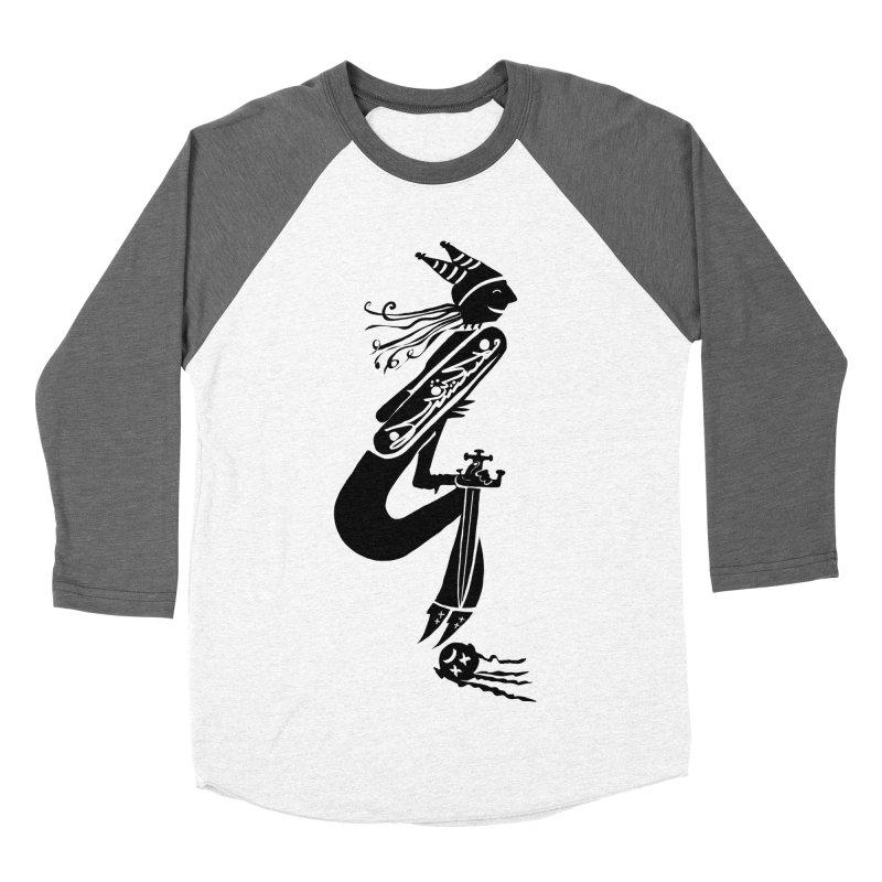 Irony Women's Baseball Triblend Longsleeve T-Shirt by DevilishDetails's Artist Shop