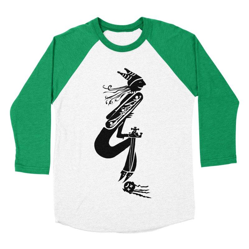 Irony Women's Baseball Triblend T-Shirt by DevilishDetails's Artist Shop