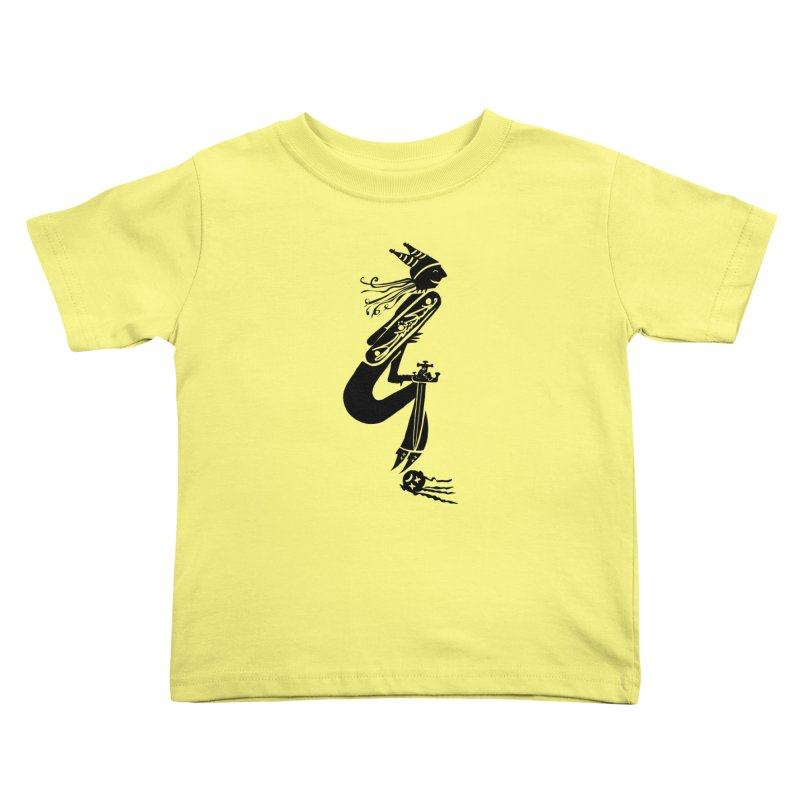Irony Kids Toddler T-Shirt by DevilishDetails's Artist Shop