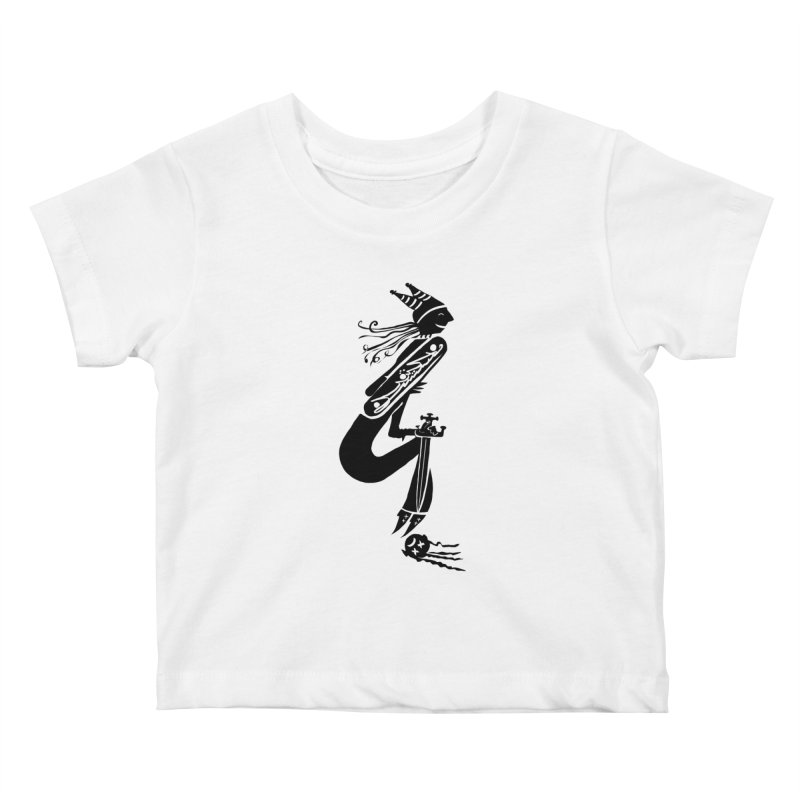Irony Kids Baby T-Shirt by DevilishDetails's Artist Shop