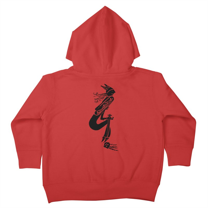 Irony Kids Toddler Zip-Up Hoody by DevilishDetails's Artist Shop