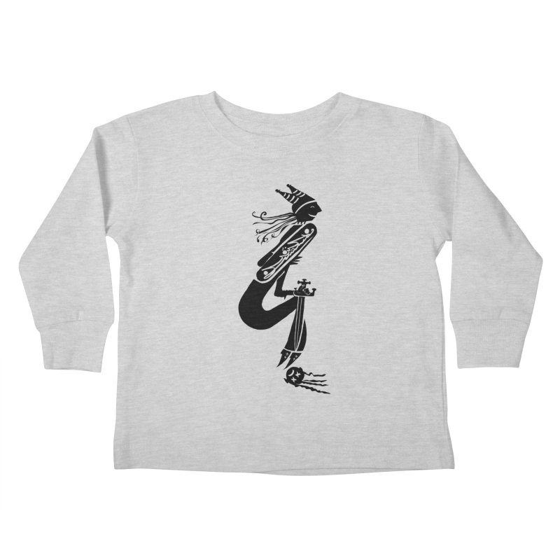 Irony Kids Toddler Longsleeve T-Shirt by DevilishDetails's Artist Shop