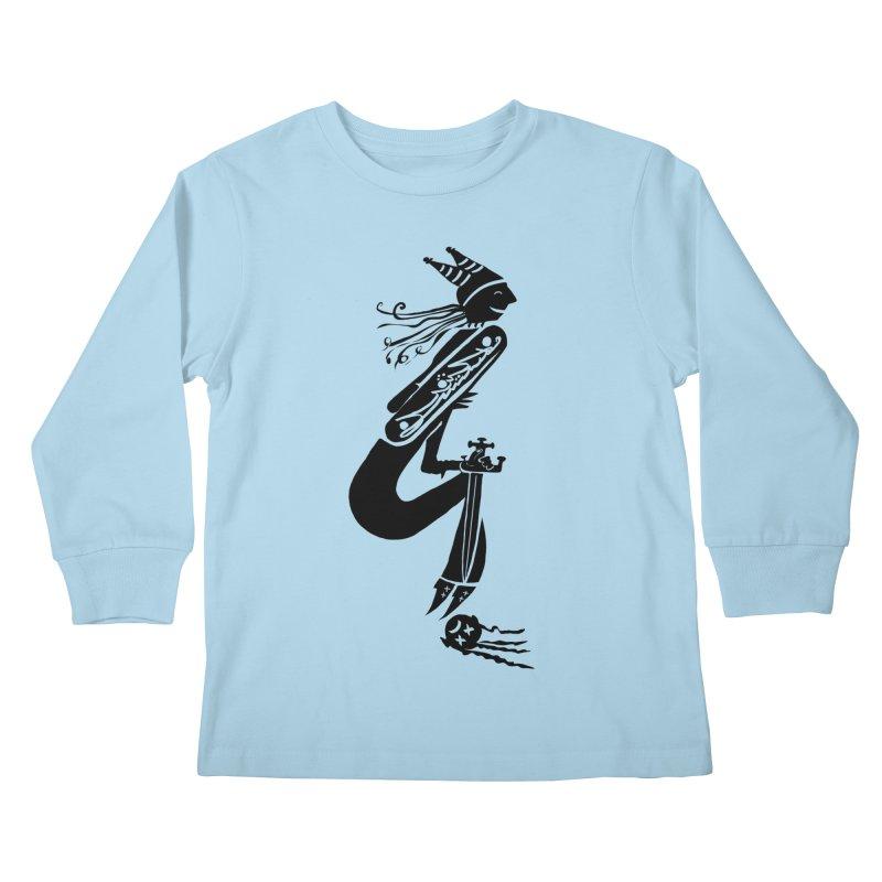 Irony Kids Longsleeve T-Shirt by DevilishDetails's Artist Shop