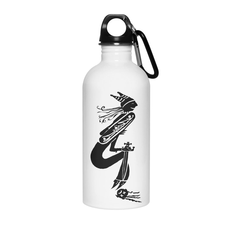 Irony Accessories Water Bottle by DevilishDetails's Artist Shop