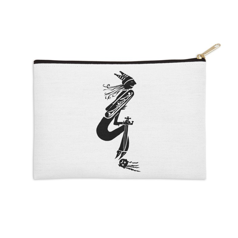 Irony Accessories Zip Pouch by DevilishDetails's Artist Shop