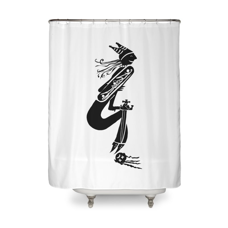 Irony Home Shower Curtain by DevilishDetails's Artist Shop