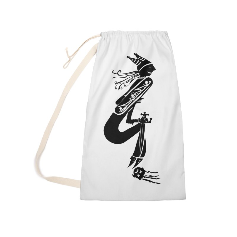 Irony Accessories Laundry Bag Bag by DevilishDetails's Artist Shop