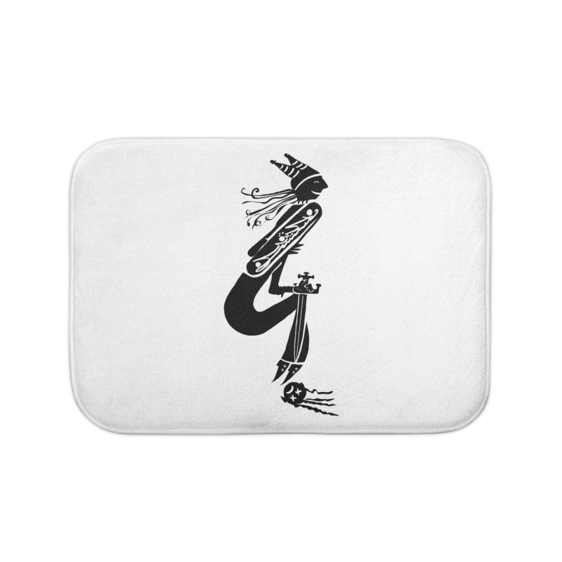 Irony Home Bath Mat by DevilishDetails's Artist Shop