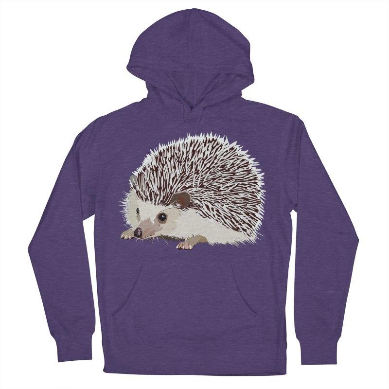 Happy Hedgehog Women's Pullover Hoody by DevilishDetails's Artist Shop