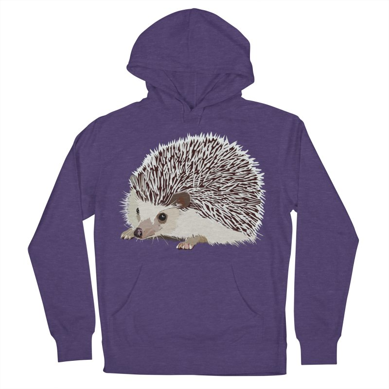 Happy Hedgehog Men's Pullover Hoody by DevilishDetails's Artist Shop