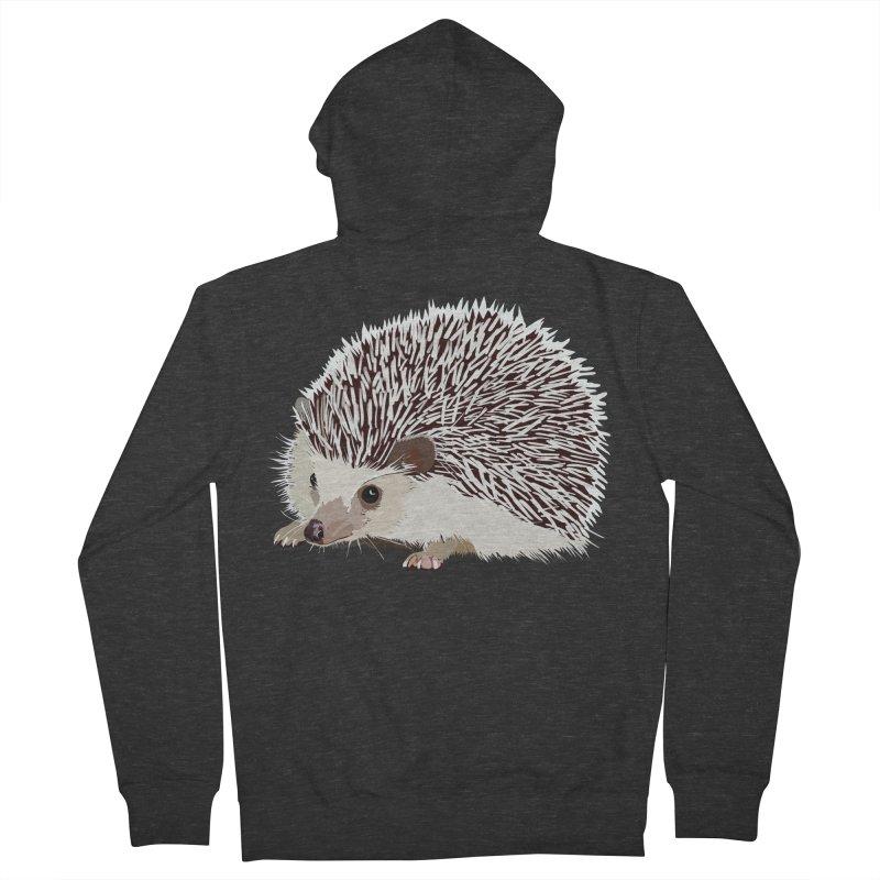 Happy Hedgehog Women's Zip-Up Hoody by DevilishDetails's Artist Shop