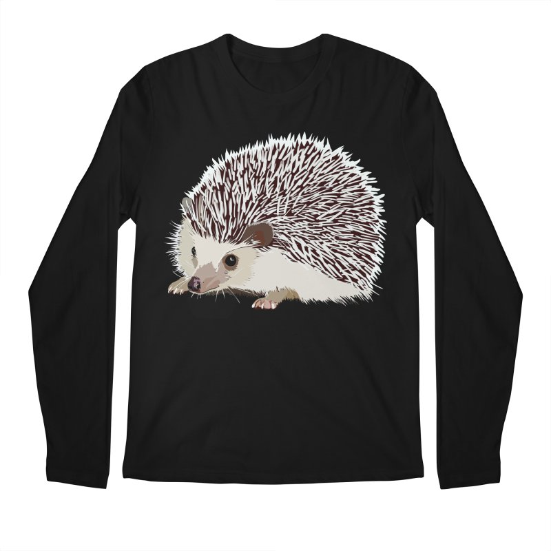Happy Hedgehog Men's Longsleeve T-Shirt by DevilishDetails's Artist Shop