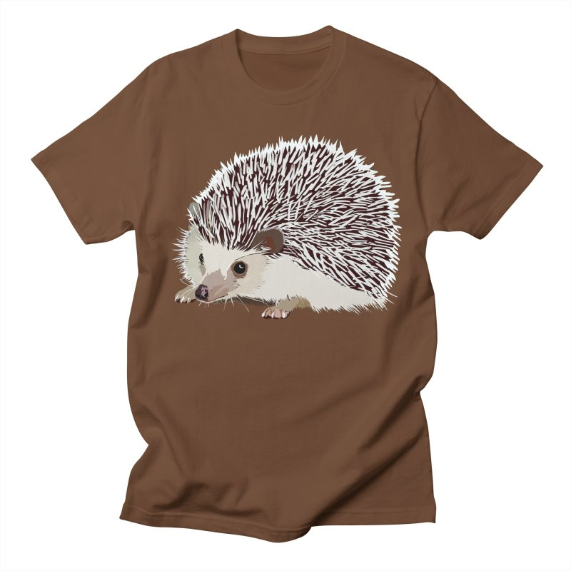 Happy Hedgehog Men's T-shirt by DevilishDetails's Artist Shop