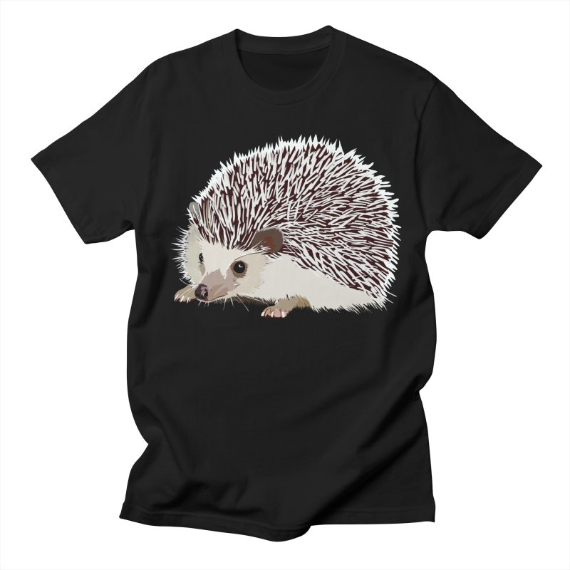 Happy Hedgehog Women's Unisex T-Shirt by DevilishDetails's Artist Shop