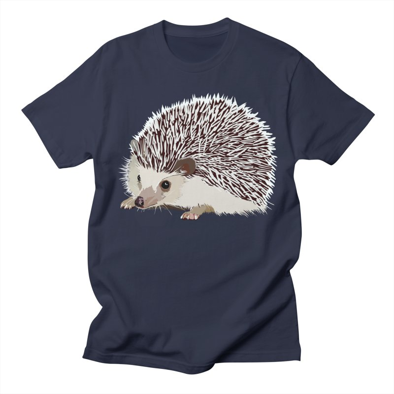 Happy Hedgehog Women's Regular Unisex T-Shirt by DevilishDetails's Artist Shop