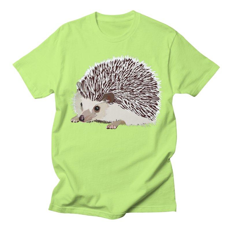 Happy Hedgehog Men's T-Shirt by DevilishDetails's Artist Shop
