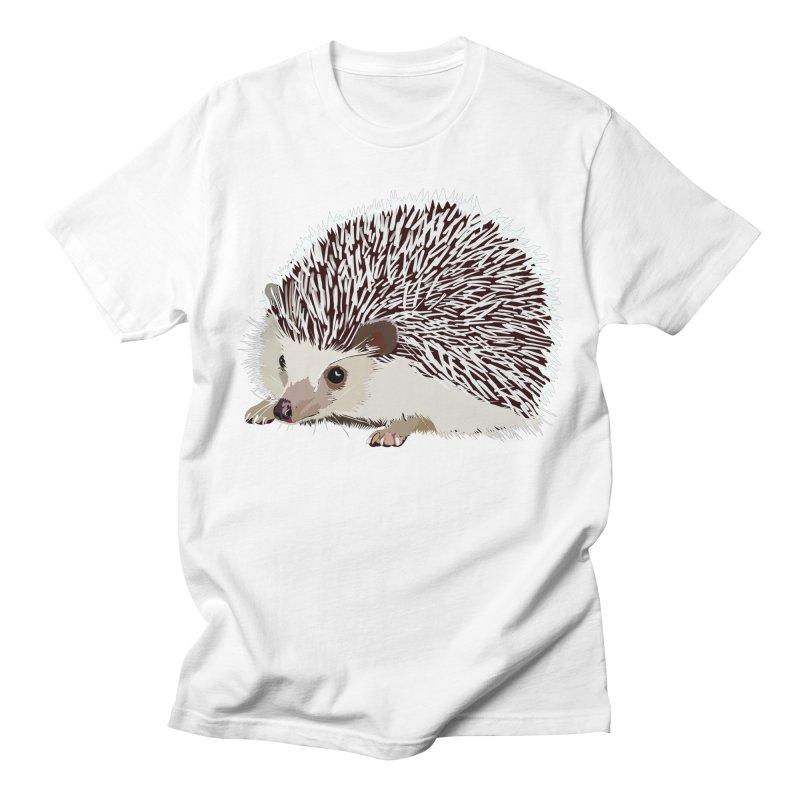 Happy Hedgehog Women's Regular Unisex T-Shirt by DevilishDetails's Artist Shop