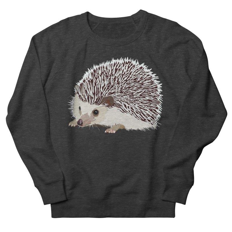 Happy Hedgehog Women's French Terry Sweatshirt by DevilishDetails's Artist Shop