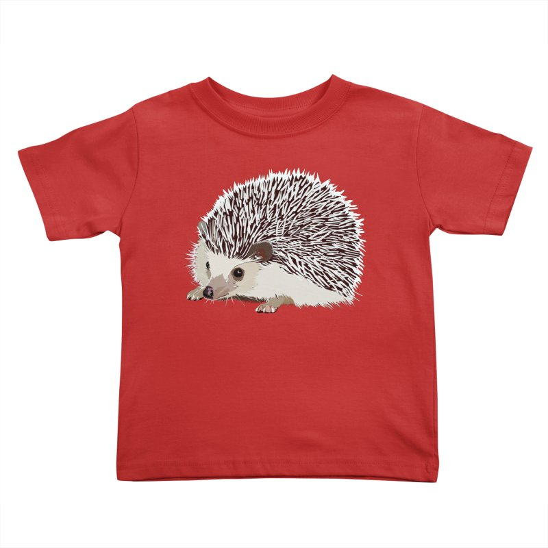 Happy Hedgehog Kids Toddler T-Shirt by DevilishDetails's Artist Shop