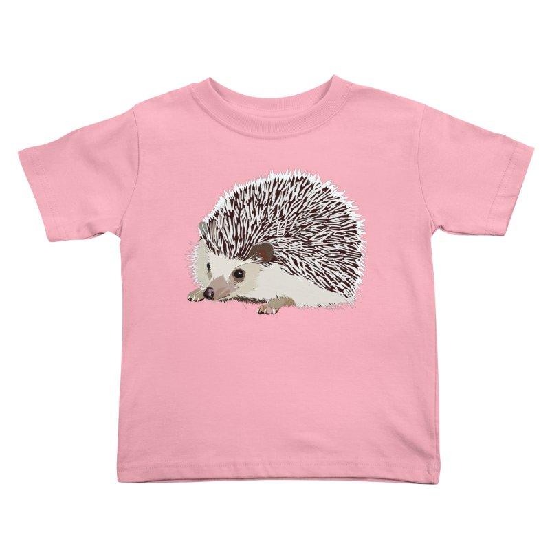 Happy Hedgehog Kids Toddler T-Shirt by DevilishDetails's Artist Shop