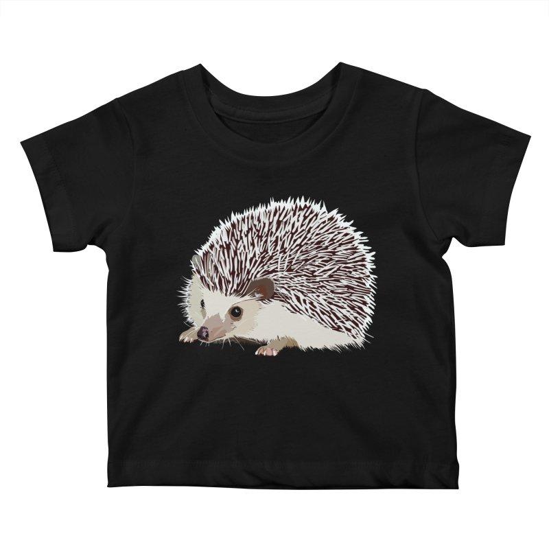 Happy Hedgehog Kids Baby T-Shirt by DevilishDetails's Artist Shop
