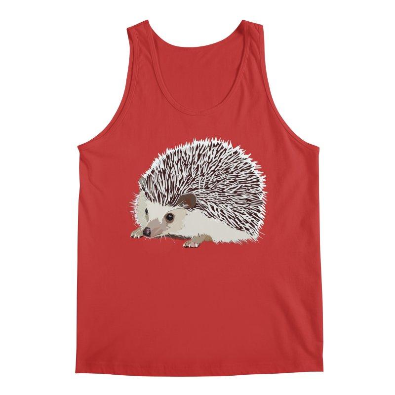 Happy Hedgehog Men's Regular Tank by DevilishDetails's Artist Shop