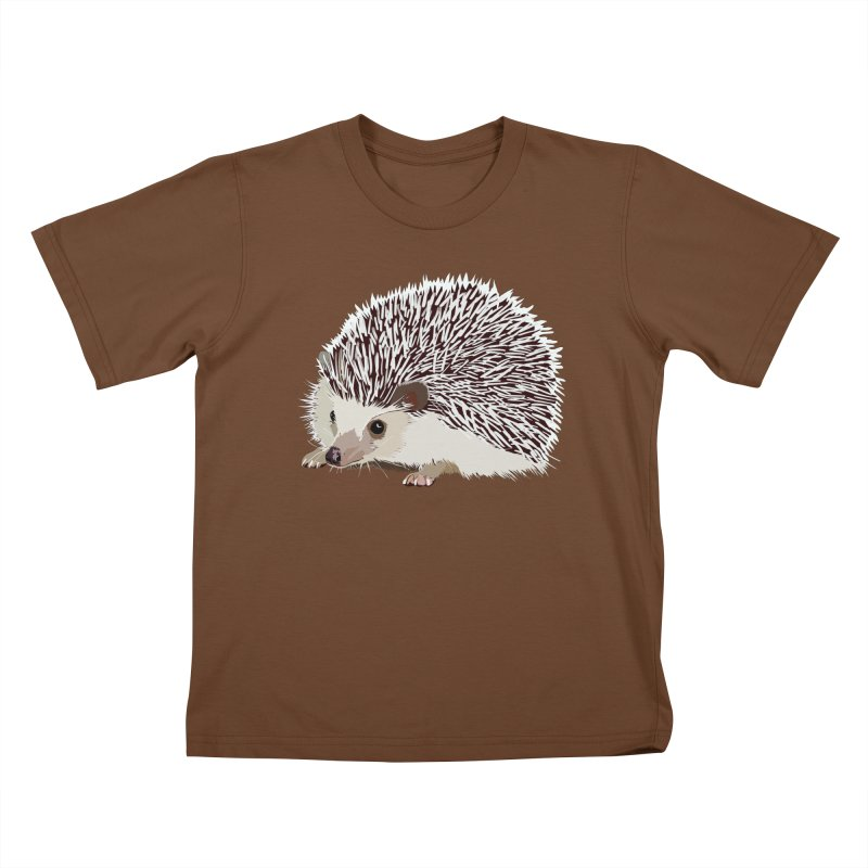 Happy Hedgehog Kids T-shirt by DevilishDetails's Artist Shop