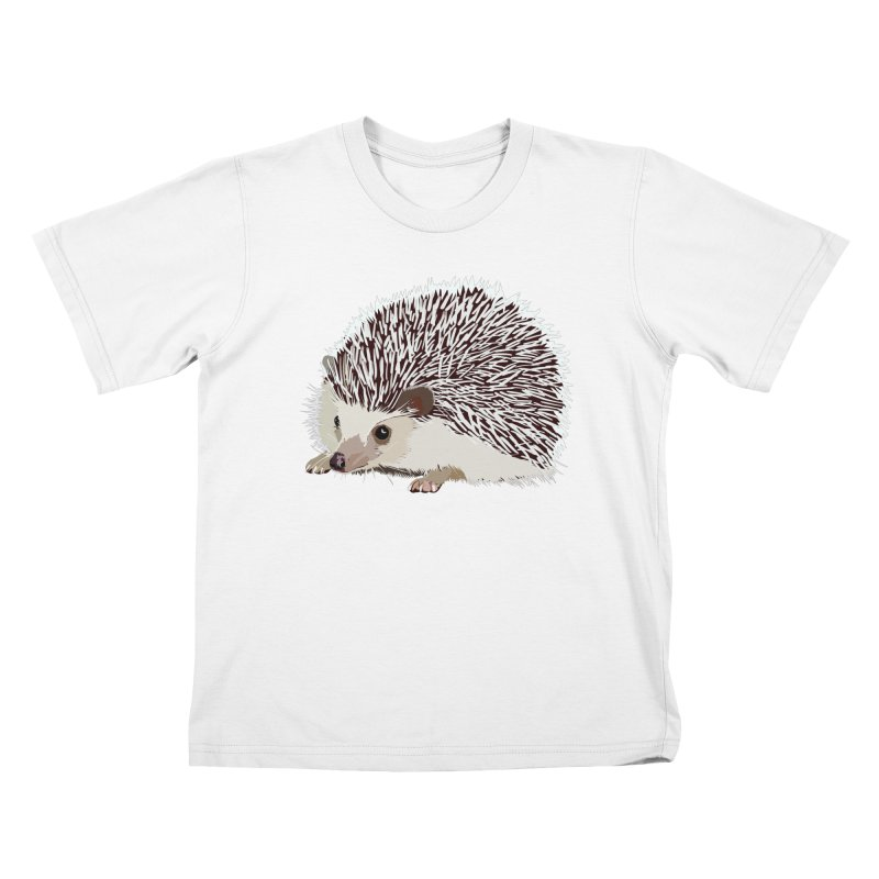 Happy Hedgehog Kids T-Shirt by DevilishDetails's Artist Shop