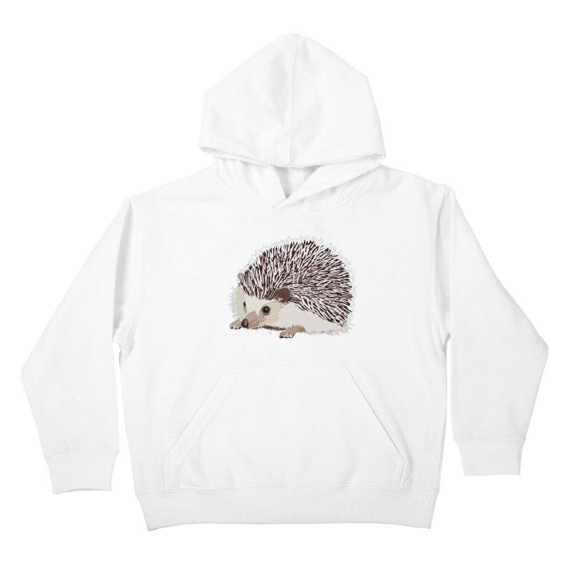 Happy Hedgehog Kids Pullover Hoody by DevilishDetails's Artist Shop