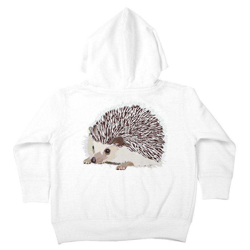Happy Hedgehog Kids Toddler Zip-Up Hoody by DevilishDetails's Artist Shop