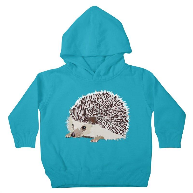 Happy Hedgehog Kids Toddler Pullover Hoody by DevilishDetails's Artist Shop
