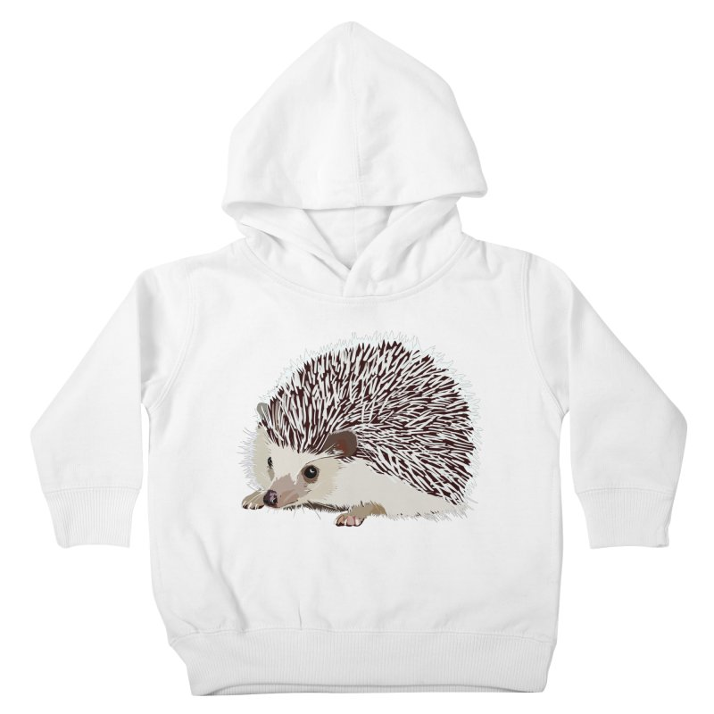 Happy Hedgehog Kids Toddler Pullover Hoody by DevilishDetails's Artist Shop